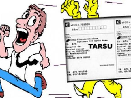 Stop al pagamento Tarsu.