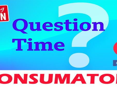 "Riprendono dal 30.10.2020 le Puntate di ""Question Time Consumatori"" su Facebook"