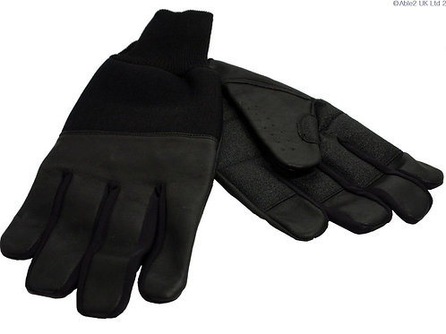 Revara Sports Leather Winter Glove Black - small