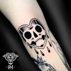 Traditional Skullheart