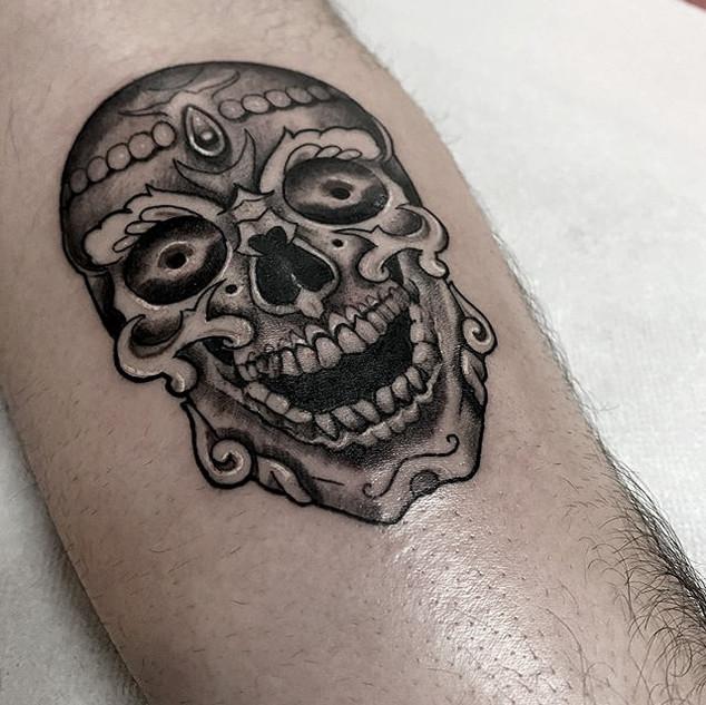 Tibetian Skull
