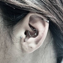 Conch Piercing & Daith Update
