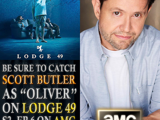 "See Me As ""Oliver"" On The Hit Show ""Lodge 49"" on AMC, Amazon and Hulu"