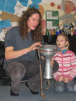 Jonas Koukl Darbuka in School