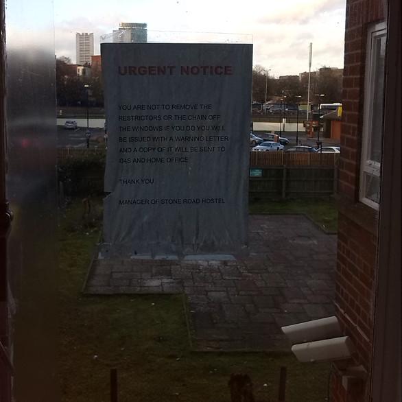 Window Warnings
