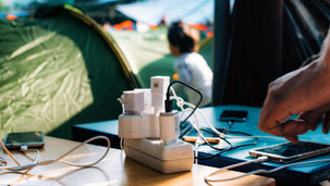 The area around the power outlet became a social space. Mobile phones are essential for maintaining contact with family as well as asylum bureaucracy. Throughout the island small kiosks sell sim cards loaded with about a month's worth of data for about 10 Euros.