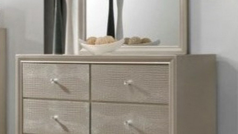Crown Mark Lyssa Dresser & Mirror