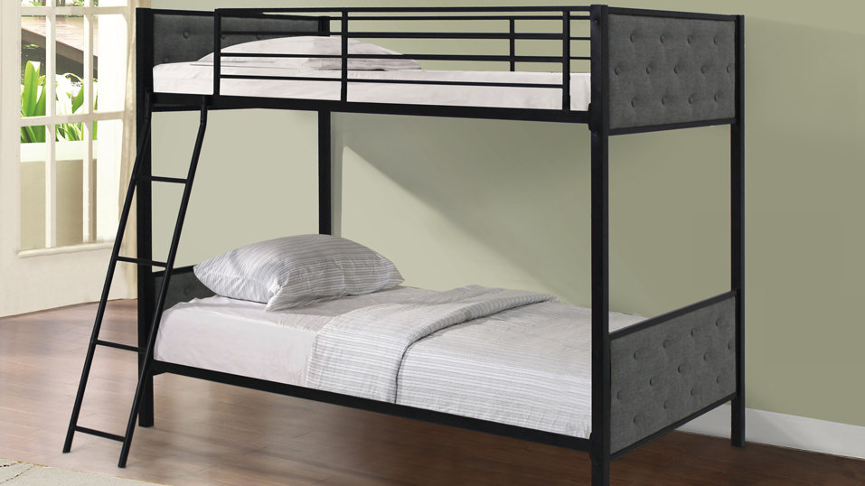 Metal and Fabric Bunkbed
