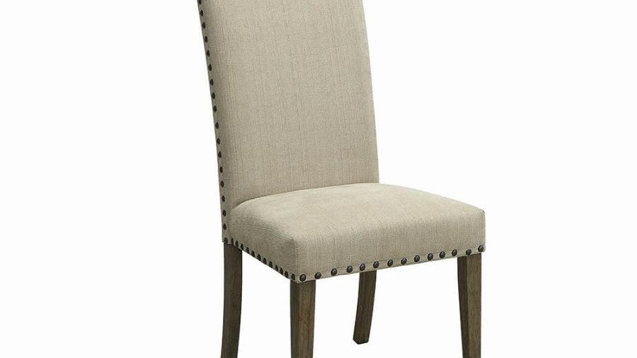 Webber Rustic Sand And Driftwood Side Chair