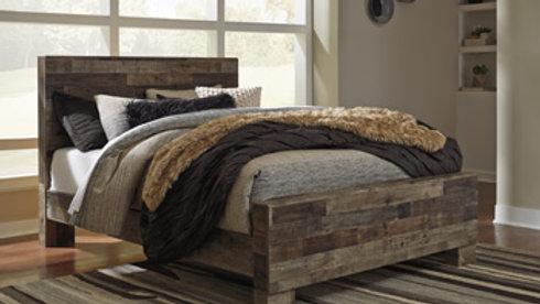 Derekson Rustic Queen Bed