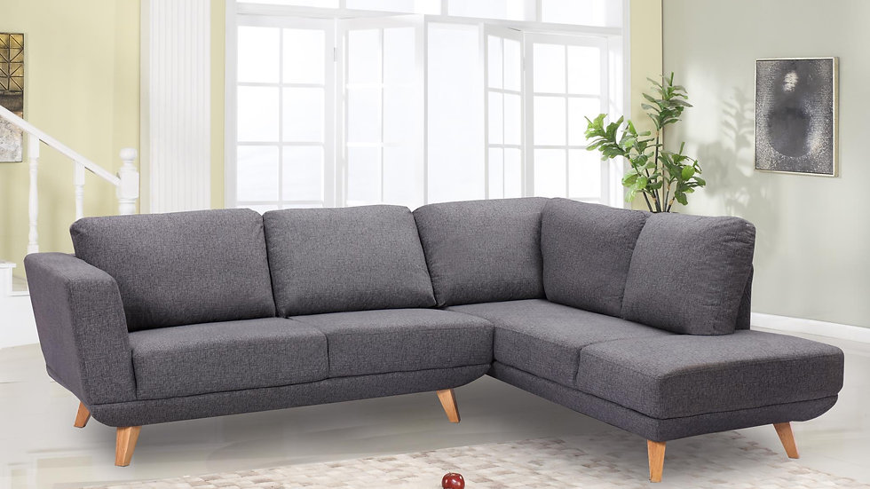 Sectional in Grey