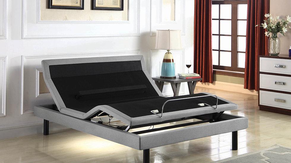 Ashbrook Eastern King Adjustable Bed Base Grey