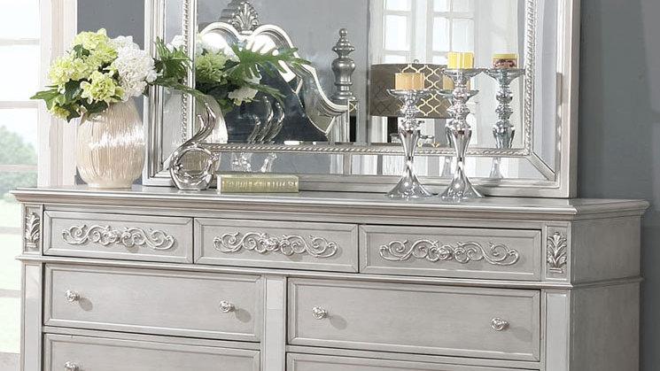 Silver Haven Dresser & Mirror