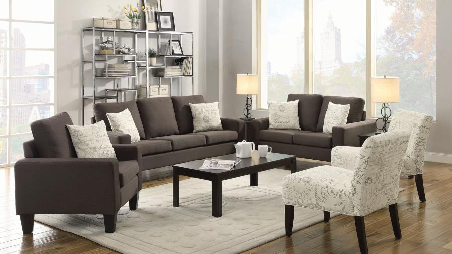 Bachman Gray Sofa & Loveseat