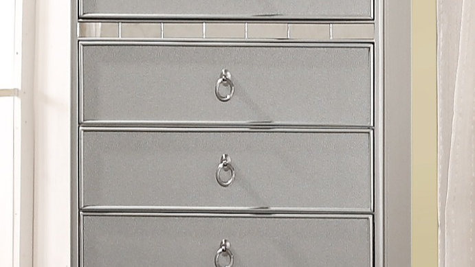 Silver Castle Chest of Drawers