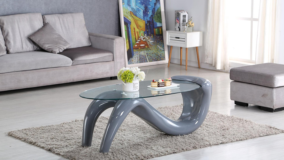 Contemporary Coffee Table in Grey