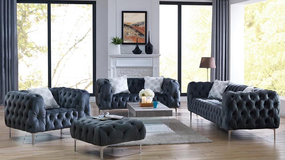 Chubby Grey Sofa