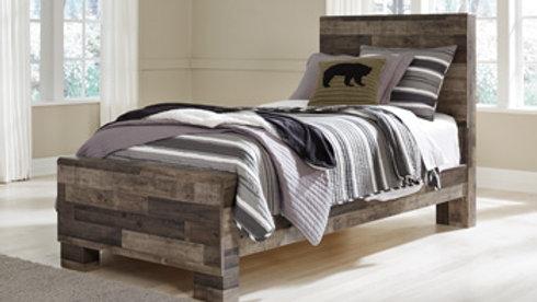 Derekson Rustic Twin Bed