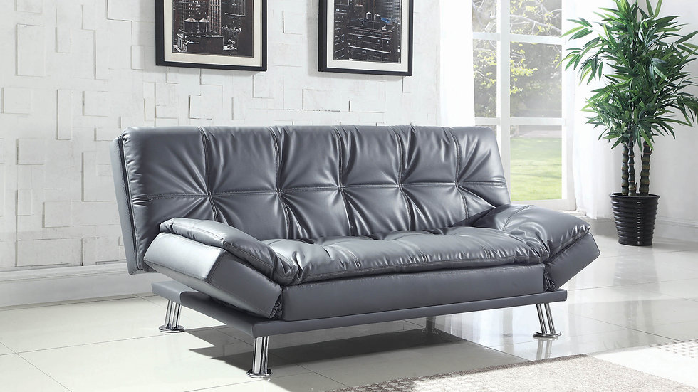 Dilleston Contemporary Grey Sofa Bed
