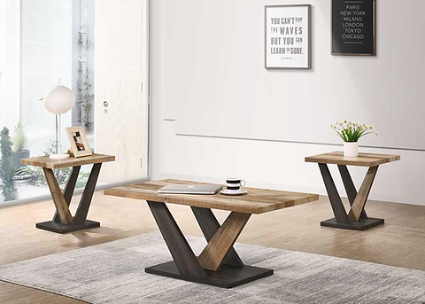 Rustic Coffee Table Set Of 3