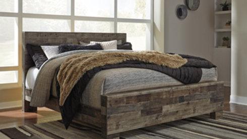 Derekson Rustic King Bed