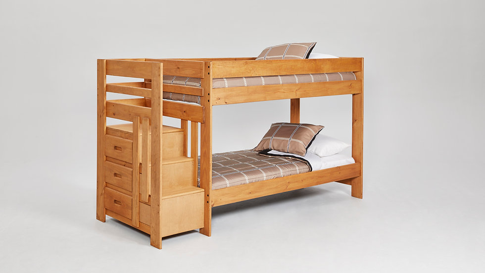 Full Wooden Bunkbed