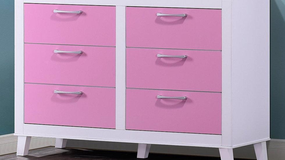 Little Princess in Pink Dresser