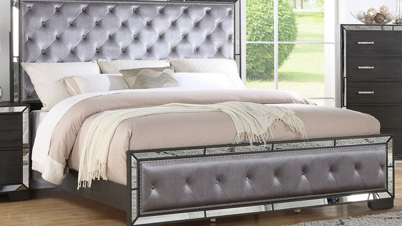 Pandora Graphite Queen Bed