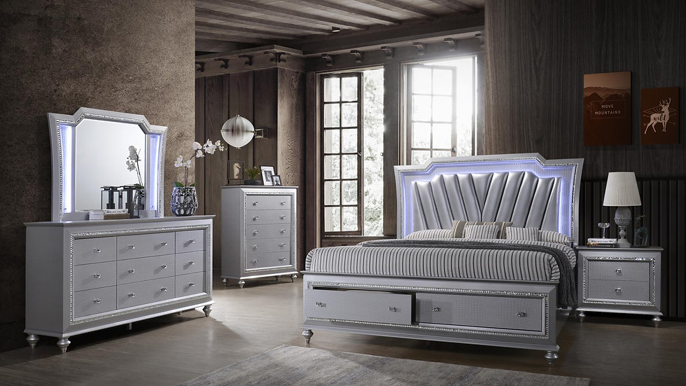 Silver Haven Chest of Drawers