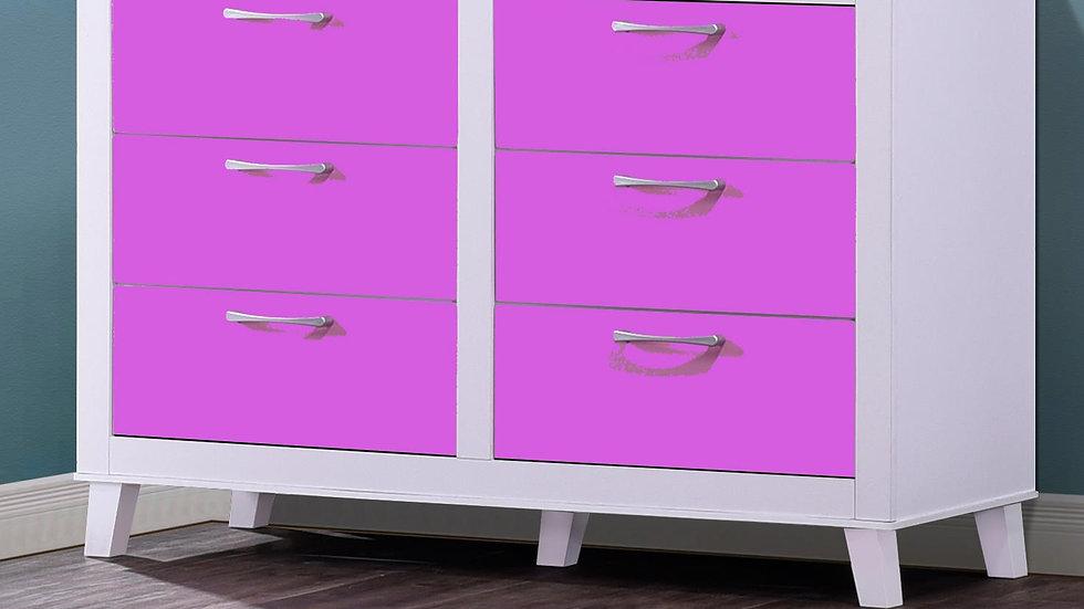 Little Princess in Purple Dresser