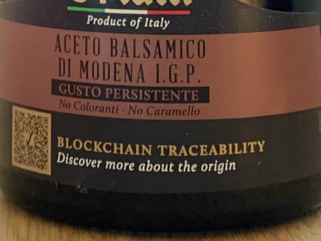 Balsamic vinegar and the blockchain