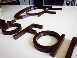 ACM com letras caixa