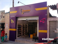 Fachada ACM loja de Sapatilha