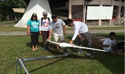 SkyEye team with drone