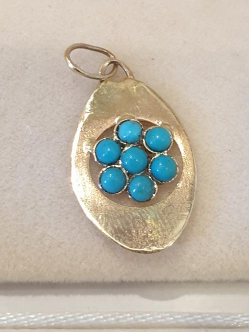 Authentic gold pendants
