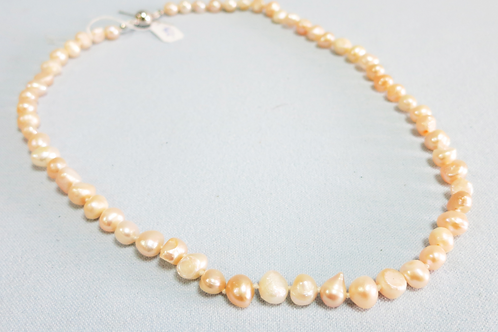 Real pink pearls