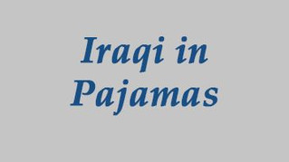Iraqi in pajamas - Learn in Zoom language, culture and everything in between