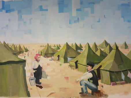 מעברים - פרויקט אמנותי מיוחד לציון 70 שנה לעלייתם ההמונית של יהודי עיראק לישראל