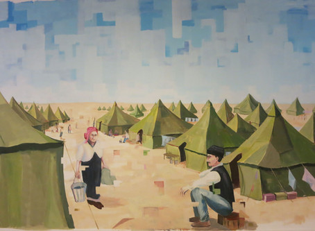 Transitions-A Special Art Project Marking the 70th Anniversary of the Mass Immigration of Iraqi Jews