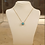 Thumbnail: Turquoise jemstone necklace