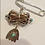 Thumbnail: Silver and Gold Afsa and Hamsa Amulet