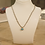 Thumbnail: Bahrain pearl necklace turquoise and cubic zirconia