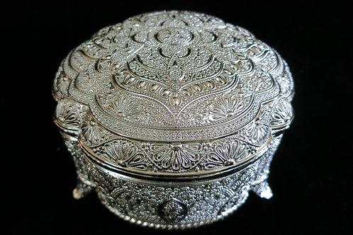 A Round Jewelry Box