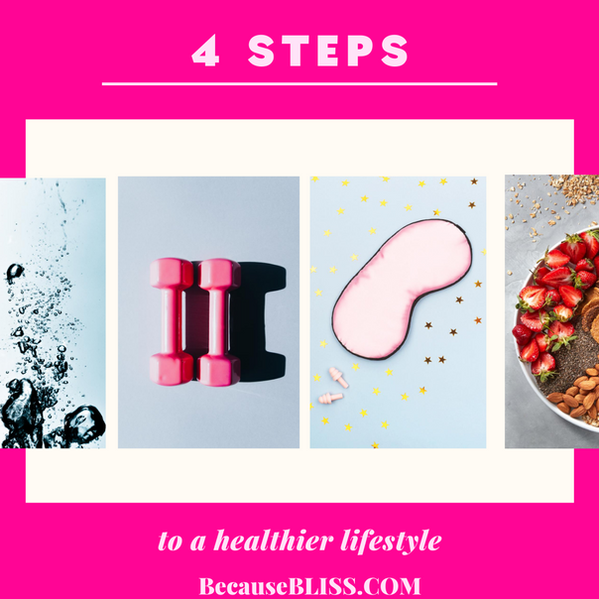 4 STEPS TO A HEALTHIER LIFESTYLE