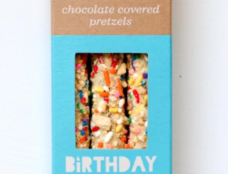 FATTY TUESDAYS-BIRTHDAY CAKE PRETZELS