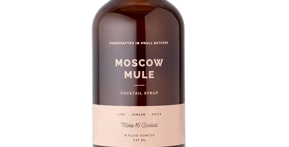 W&P Moscow Mule Syrup