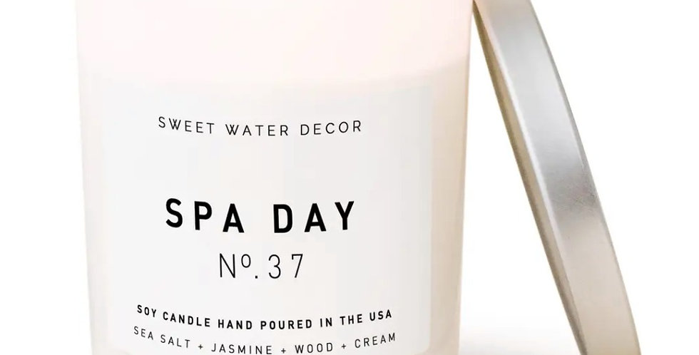 Sweet Water Decor- Spa Day Candle