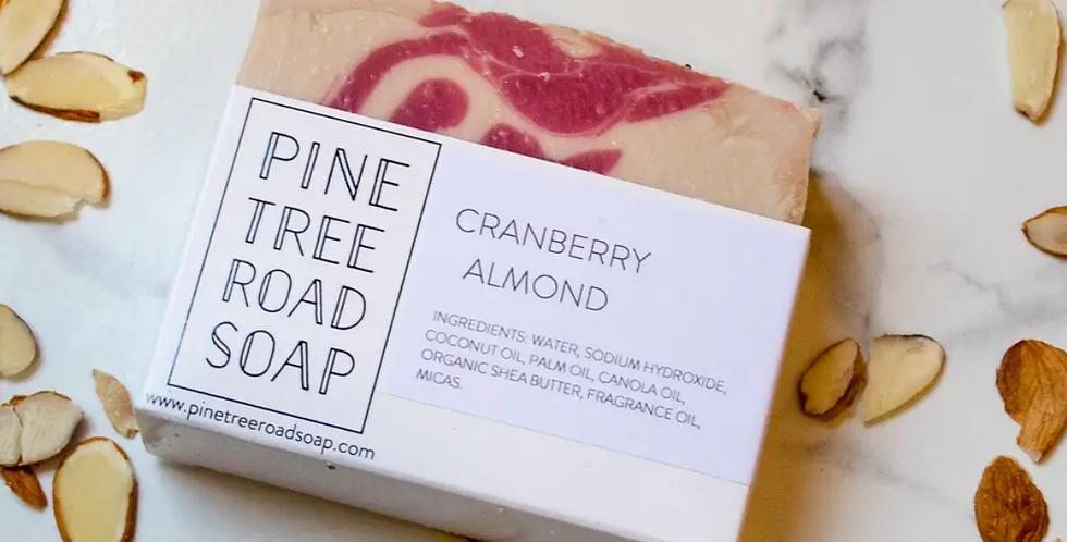 Pine Tree Road Soap-Cranberry Almond Soap Bar