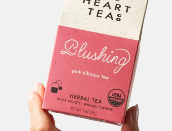 BLUSHING TEA