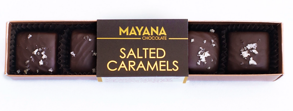 MAYANA CHOCOLATE-SALTED CARAMELS